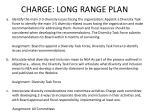 charge long range plan
