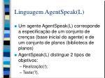 linguagem agentspeak l