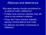 alliances and deterrence2