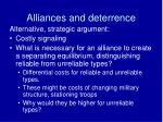 alliances and deterrence3