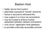 bastion host