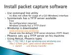 install packet capture software