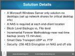 solution details