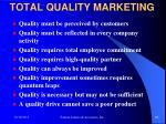 total quality marketing