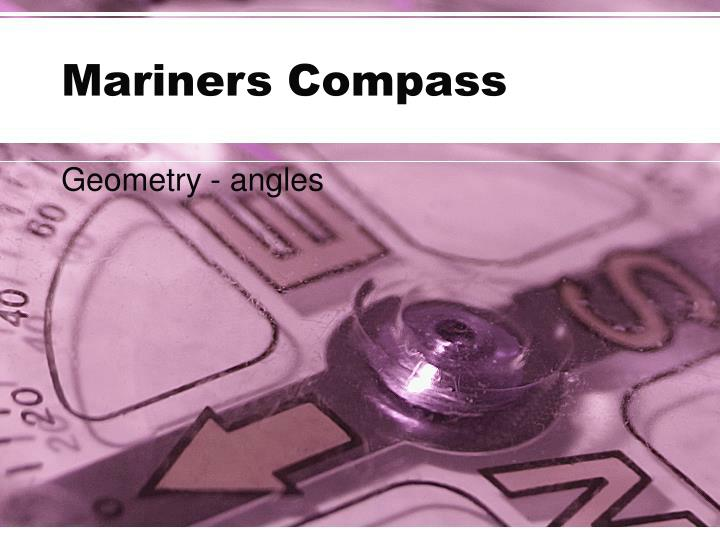 mariners compass n.