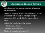 academic skills series