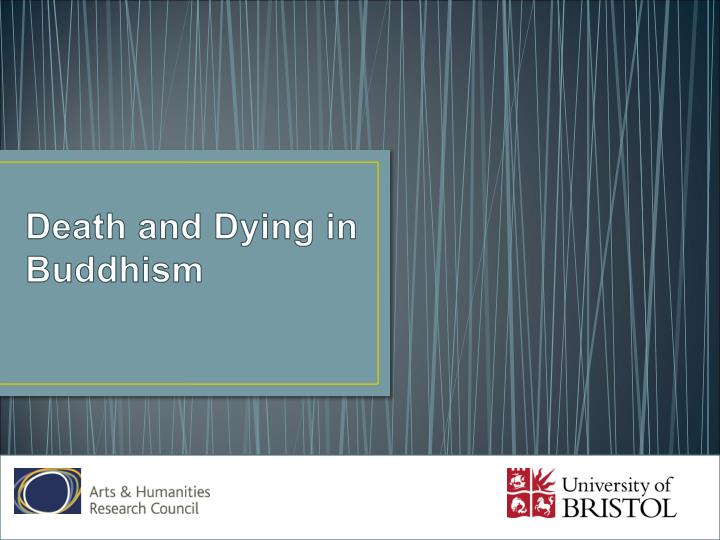death and dying in buddhism n.