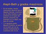aleph beth y grados mas nicos1