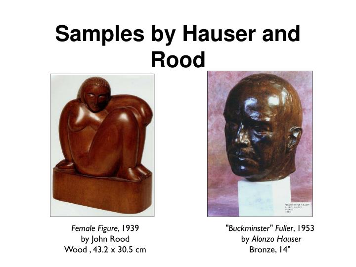 Samples by Hauser and Rood