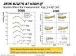 zeus dijets at high q 2 double differential measurement log in q 2 bins