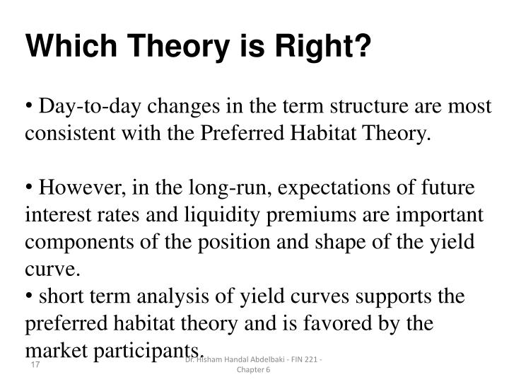 Which Theory is Right?