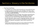 section 1 slavery in the territories3