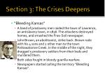 section 3 the crises deepens6