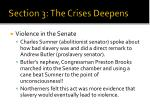 section 3 the crises deepens7