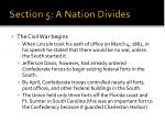 section 5 a nation divides5