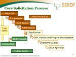 core solicitation process
