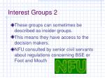 interest groups 2