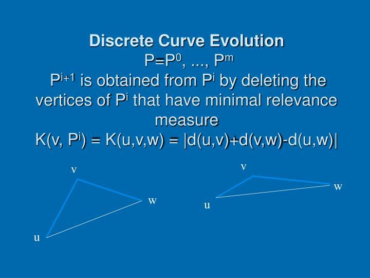 Discrete Curve Evolution