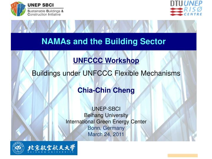 namas and the building sector n.