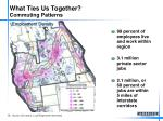 what ties us together commuting patterns
