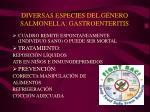 diversas especies del g nero salmonella gastroenteritis2