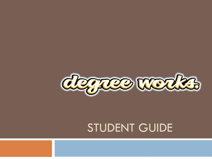 student guide n.