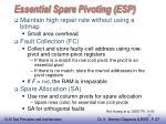 essential spare pivoting esp