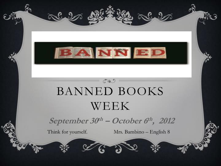 banned books week n.