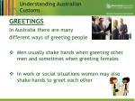 understanding australian customs