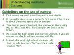 understanding australian customs9