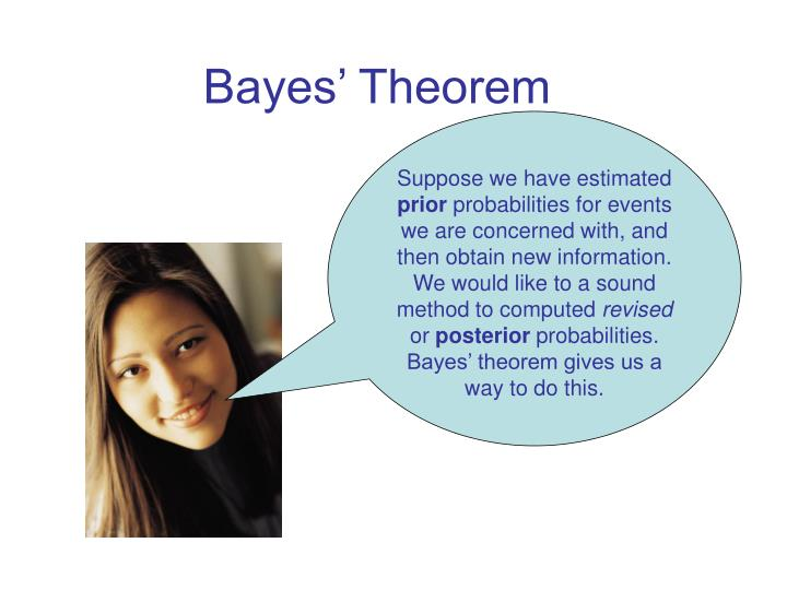 bayes theorem n.