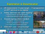 exploitation dissemination
