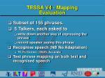 tessa v4 mapping evaluation