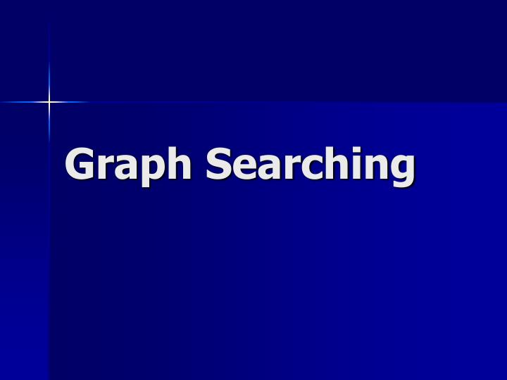 graph searching n.