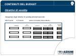 contenuti del budget obiettivi di vendita8