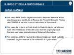 il budget della succursale criteri contabili4