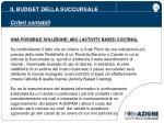 il budget della succursale criteri contabili5