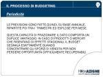 il processo di budgeting periodicit1