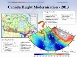 canada height modernization 2013