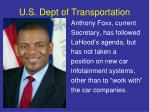 u s dept of transportation1