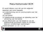 maturiteitsmodel bcm