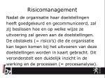 risicomanagement