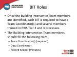 bit roles