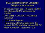 bda english spanish language telephone intervention1