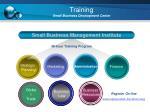training small business development center