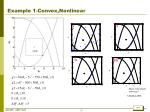 example 1 convex nonlinear