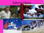editorial clients