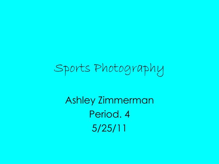 sports photography n.