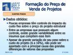 forma o do pre o de venda de projetos6