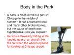 body in the park1